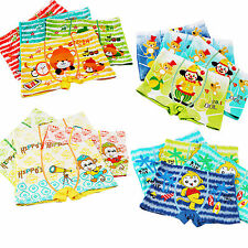 Pack Of 5 Boys Children Kids Underwear Boxer Shorts Cartoon Multicolour Pants