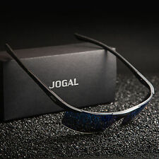 Jogal HD Polarized Sunglasses Mens Driving Fishing Sports UV400 Mirrored Eyewear