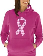 Support Breast Cancer Awareness - Big Pink Ribbon Women Hoodie Fight Cancer