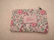 Sass & Belle Vintage Ditsy Floral Girlie ~ Love ~ Best Friend Coin Purse Wallet
