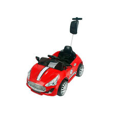 MASERATI RIDE ON TOY CAR 6V/12V BATTERY + PARENTAL REMOTE CONTROL RED WHITE FUN