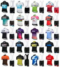 NEW! 2018 Team Sport Cycling Jersey Bib Shorts Set Bike Clothing Team Sky Giant
