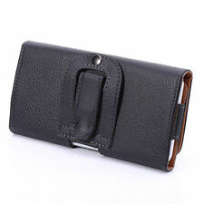 * FOR APPLE IPHONE * PU Leather Magnetic Flip Belt Hip Pouch Case