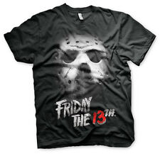 Jason Voorhees Maske Friday the 13th Freitag der 13 Männer Men T-Shirt Schwarz
