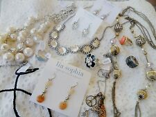 LIA SOPHIA Collection jewelry a lot 6 or 8 piece grab bag