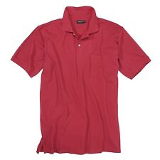 ROJO REDFIELD CAMISETA POLO PARA HOMBRES HASTA TALLA 8XL WOW