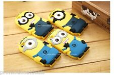 CuteMinion Design 3D Soft Silicone Back Case Cover For Apple iPhone 5C