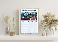 personalised childrens reward chart behaviour chart