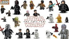 LEGO MINIFIGURES. GENUINE NEW STAR WARS MINI FIGURES THE LAST JEDI ROUGE ONE ETC