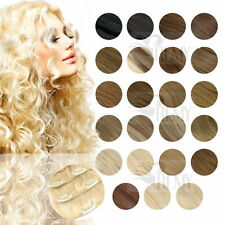 Clip In Extensions Clip On Haarteile 40 45 60 cm 100% Indisches Remy Echthaar