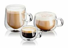 Judge Doble Pared café, Latte o Expreso Transparente Vasos, Set de 2