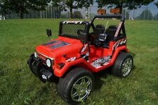 CHILDRENS 12V 2 SEATER 4X4 RIDE ON CAR TWIN MOTOR BATTERY POWERED MOTOR JEEP