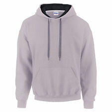 Gildan Men's Heavy Blend Contrast Adult Hooded Sweatshirt Hoodie - 185C00