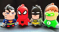 American Cartoon Heros 8/16/32/64GB USB 2.0 Memory Stick Flash Drive Gift