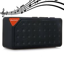 New Mini X3 Boombox Wireless Bluetooth Speaker Microphone For Cell Phone Tablet