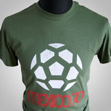 Mexico 70 Retro Football Soccer T Shirt FIFA World Cup 1970 Pele Brazil Vintage