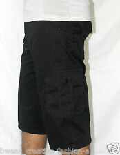 Men's Solids Six Pockets Cotton Cargo Pants, Cargo Shorts, 3/4Th -Casual Wear