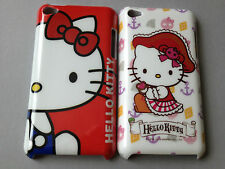 GLOSSY PLASTIC BACK CASE / COVER FOR APPLE iPOD TOUCH 4th GEN. - HELLO KITTTY