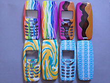 MOBILE PHONE FASCIA / HOUSING / COVER FOR NOKIA 3310 3330 - 4 COLOURFUL DESIGNS