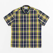 Brutus 4401-531 blue/yellow/green Madras Check Great-fit shirt size  5XL
