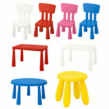 Mammut Children's Plastic Chairs,Tables & Stools in/outdoor,Many Colours & Style