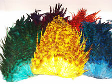 Chinchilla Cock Saddle Cape, Grade AAA ,Choice from 7 colours,Fly tying feathers