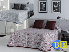 colcha reversible Jacquard 90 -105 135 -150 double-sided  pike bedspreads cojin