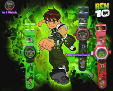 Ben 10 Omniverse Kids Watch with Inbuilt 24 Projector Image of Ben 10 Cartoon