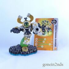 Skylanders Swap Force NITRO MAGNA CHARGE + CARD (Tech) Trap Team & Superchargers