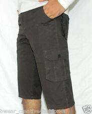 Men's Solids Six Pockets Cotton Cargo Pants, Cargo Shorts, 3/4Th, Half Tracks