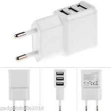 3 USB Port Wall Charger Adapter for Samsung Galaxy S5 S4 S3 S2 Note Iphone