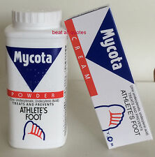 BOTH MYCOTA CREAM 25G & POWDER 70G TREATS AND PREVENTS ATHLETE'S FOOT
