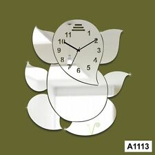 Modern design 3D DIY Ganesha wall clock sticker-LaserCraftStore-A1113