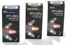 Dylon Leather Shoe & Boot Dye Available in 3 Colours 50ml Bottle & Applicator