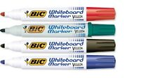 Bic 1.3mm Whiteboard Dry Wipe Marker Bullet School Office Presentation BRAND NEW