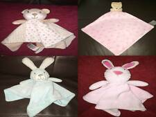 Matalan Baby Comforter Blankie Soft Toy Bunny Rabbit Bear Dog