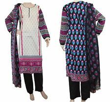 DW25LA Ready Made Stitched Salwar Kameez Dress Pakistani Indian Asian Lawn Suit