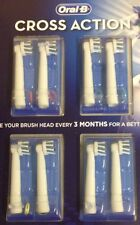Braun Oral B 3D Cross Action Brush Replacement Heads