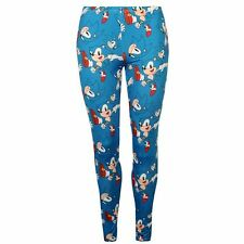 Ladies Character Print Leggings Sonic The Hedgehog New With Tags