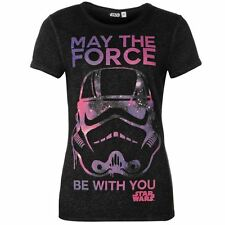 Ladies Character Print T-Shirt Star Wars New With Tags