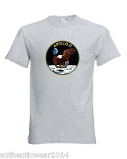 Unisex Nasa Apollo 11 Emblem T Shirt 1969 First man on Moon Landing Armstrong te