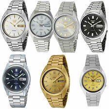 Seiko 5 Mens Stainless Steel Bracelet Automatic Watch