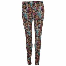 Ladies Character Print Leggings Disney Frozen New With Tags