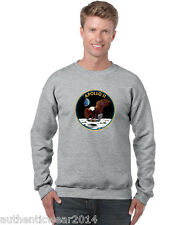 Unisex Nasa Apollo 11 Emblem Sweatshirt 1969 First man on Moon Landing Armstrong