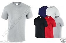 SOFT PLAIN 100% COTTON T SHIRTS COTTON SUMMER OFFER, WHITE,BLACK,GREY,NAVY,RED