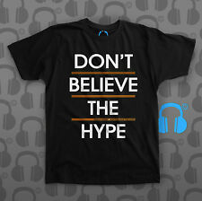 Music Threads Unofficial Public Enemy Don't Believe the Hype black crew t-shirt