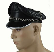 051b9e954f0 AW-0056 Original Leather Muir Cap with Chain