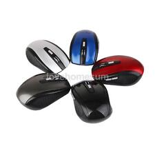 Mouse Wireless 2.4GHz Mouse Ottico Senza Fili Per Laptop Notebook VARI COLORI