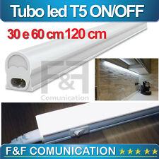 NEON LED V-TAC BARRA SMD TASTO ON OFF 30 60 120 CM LED CUCINA CAMERA VTAC NEW