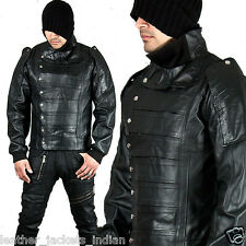 Men's New Stylish Leather Jacket in Black Color Hollywood Stylish New Fashion